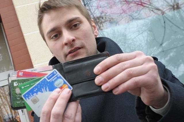 Damian Nowakowski: - W Opolu ciągle jest problem z płaceniem kartą. Nie raz zdarzało się, że odchodziłem od kasy z kwitkiem, bo nie miałem przy sobie gotówki.