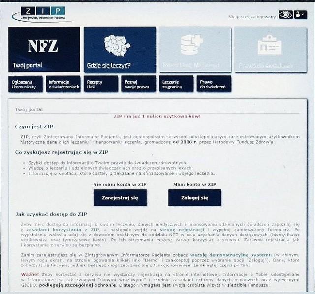ZIP to ogólnopolski internetowy serwis informacyjny, gdzie można znaleźć wszystko o leczeniu w ramach ubezpieczenia w NFZ
