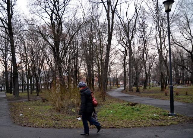 W parku powstanie m.in. plac zabaw