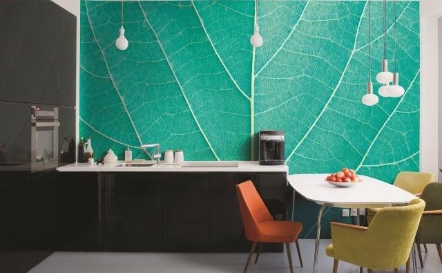 Fototapeta do dobry sposób na metamorfozę wnętrza - również kuchni.