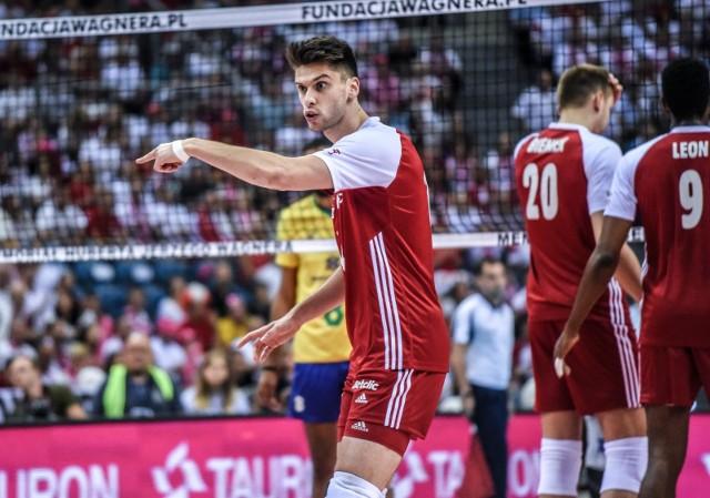 Aleksander Śliwka był jednym z bohaterów niedzielnego meczu z Włochami