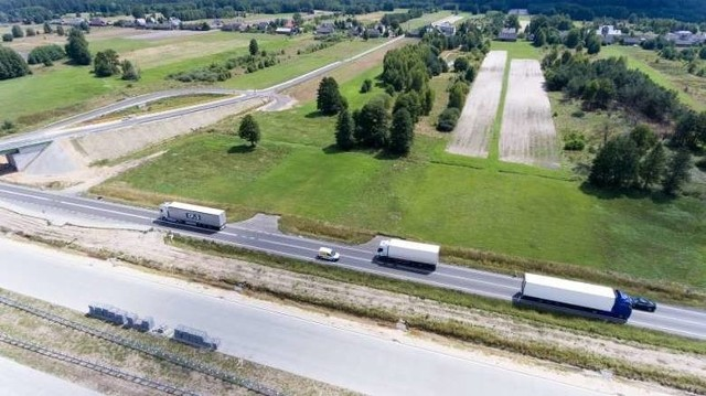 Zdjęcia lotnicze z budowanej S8 od Wyszkowa do Poręby