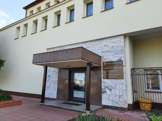 Dwa punkty szczepień masowych powstaną w Choroszczy: w szpitalu oraz DPS-ie.