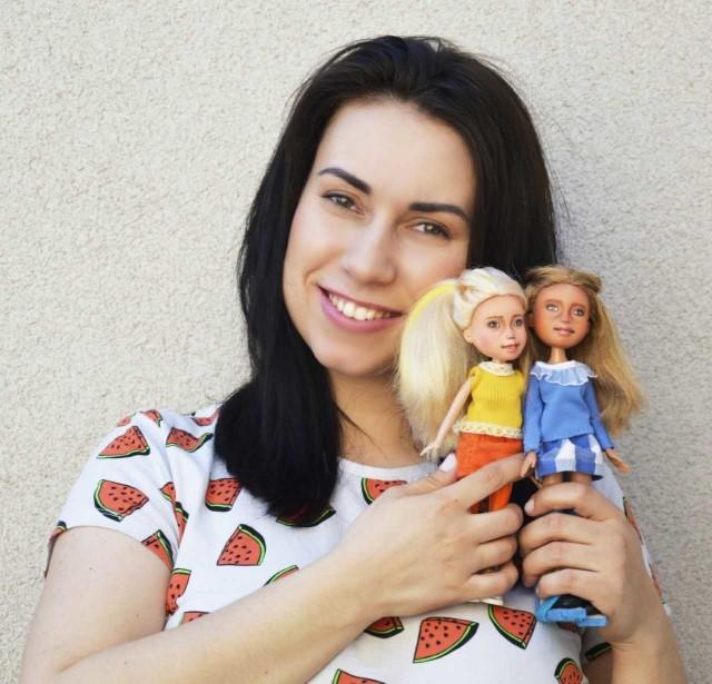 Anna Ignatów zajmuje się przerabianiem lalek od 2015 roku.