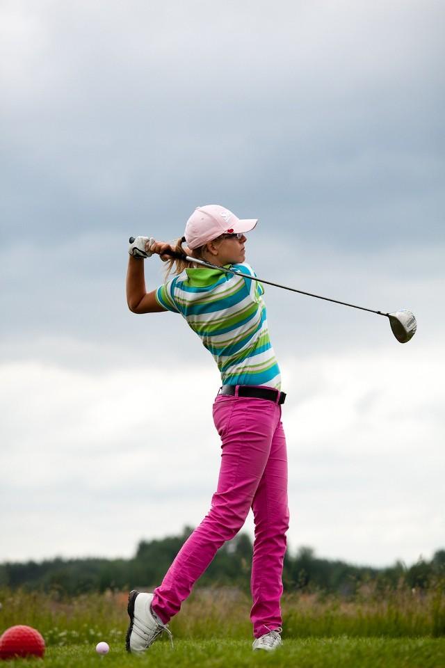 Marianna Duczmal z Puszczykowa w golfa gra od czterech lat