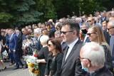 """Tłum mieszkańców pożegnał Zygmunta Stabrowskiego. """"Kochał ludzi i Zieloną Górę"""""""