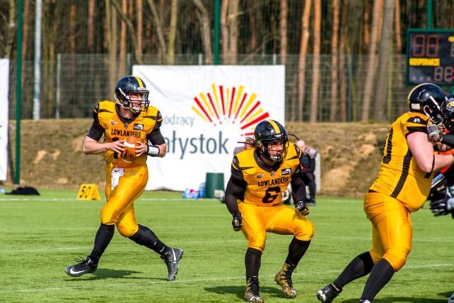 Lowlanders Białystok wygrali drugi mecz w bieżącym sezonie Ligi Futbolu Amerykańskiego