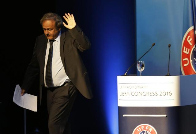 Michel Platini cały czas twierdzi, że jest niewinny