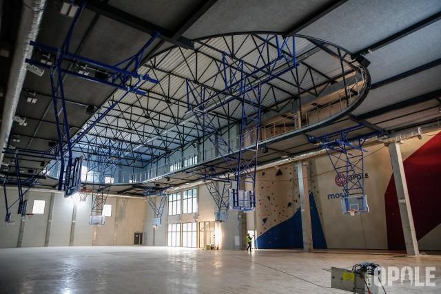 Opolski Park Sportu. Nowa hala sportowa, boiska i ścianka wspinaczkowa w Opolu na finiszu