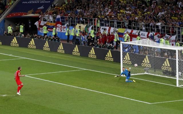 Anglia w serii rzutów karnych pokonała Kolumbię i została ostatnim ćwierćfinalistą mistrzostw świata