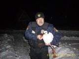 Zima mogła zabić ptaka. Bocian uratowany przez straż miejską.