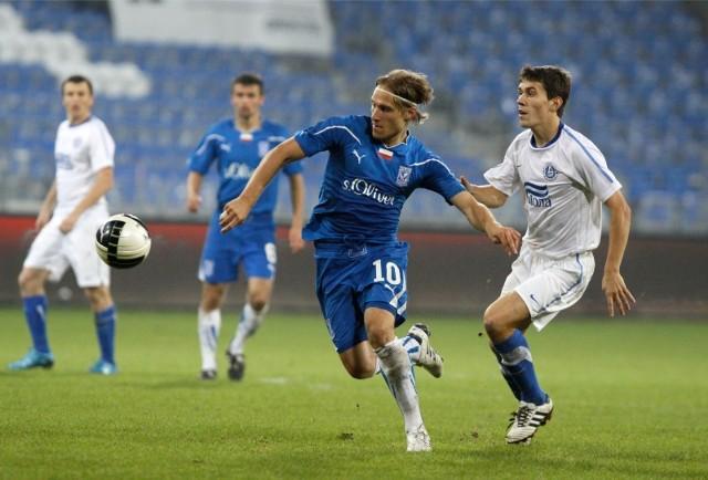 Siergiej Kriwiec dał rezerwom Lecha Poznań cenne zwycięstwo w pojedynku z drugim zespołem Śląska Wrocław. Dla Białorusina to trzeci gol w tym sezonie eWinner II ligi.