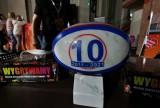 Master Pharm Rugby Łódź. Z okazji jubileuszu dostali piłkę z kamienia [ZDJĘCIA]