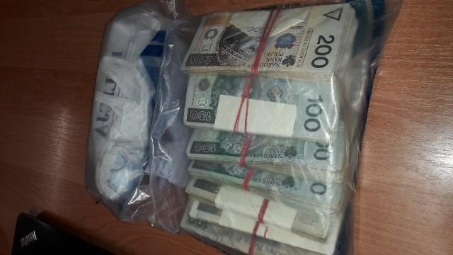Policjanci odzyskali kilkadziesiąt tysięcy złotych, po które oszust się nie zgodził