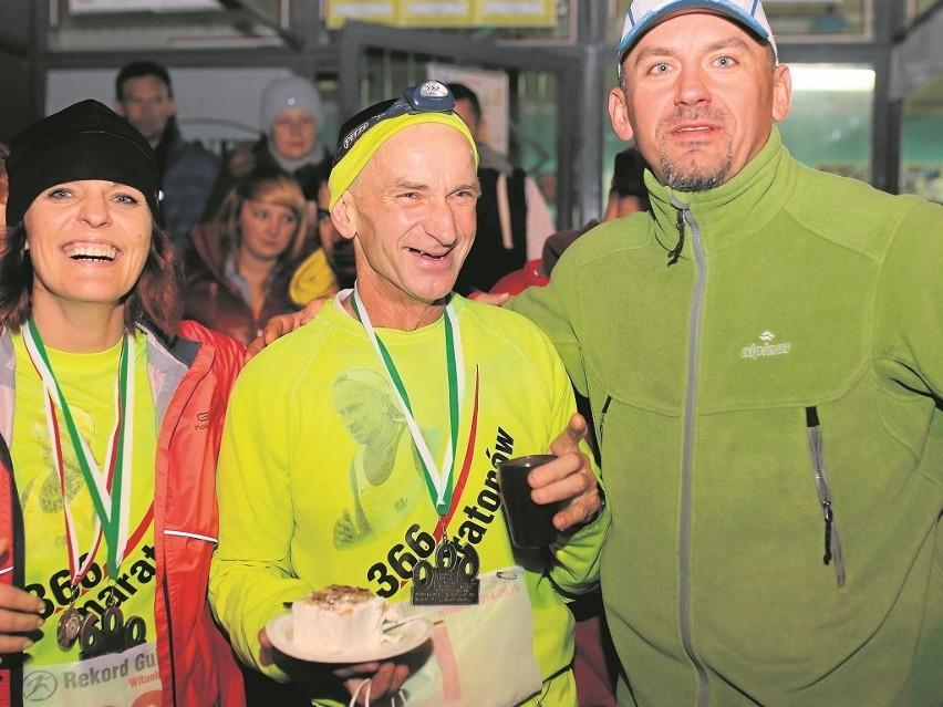 Dla Ryszarda Kałaczyńskiego codzienne bieganie maratonów nie...