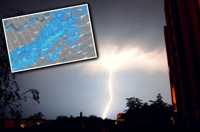 W poniedziałek, 13 kwietnia, w Polsce pojawią się burze - wynika z prognoz.