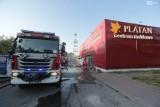 Po pożarze Platana. Straty na kilkaset tysięcy złotych