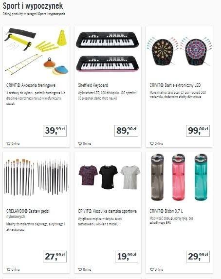 3462c5b4489d7e Lidl otworzył sklep internetowy. Do kupienia są setki produktów. Co ...
