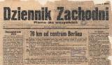 71. URODZINY DZ: Historia na okładkach Dzienniki Zachodniego ZDJĘCIA