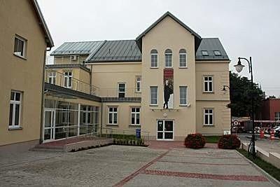 Centrum im. Ludwika Zamenhofa - widok od strony dziedzińca.
