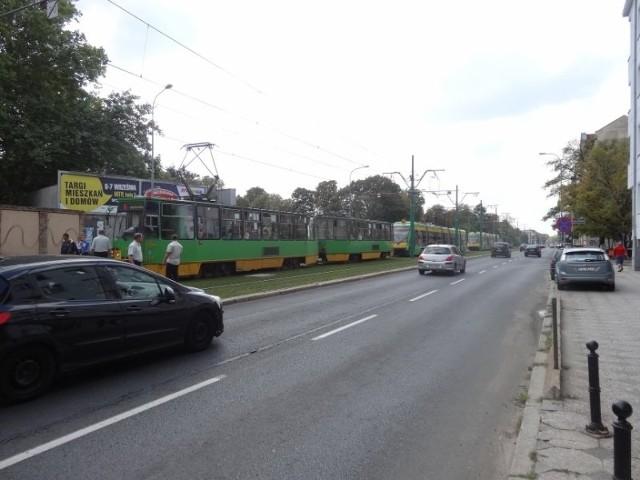 Awaria tramwaju i przerwa w ruchu na Grunwaldzkiej