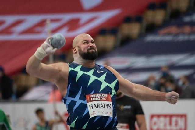 Michał Haratyk pobił w Atlas Arenie rekord życiowy