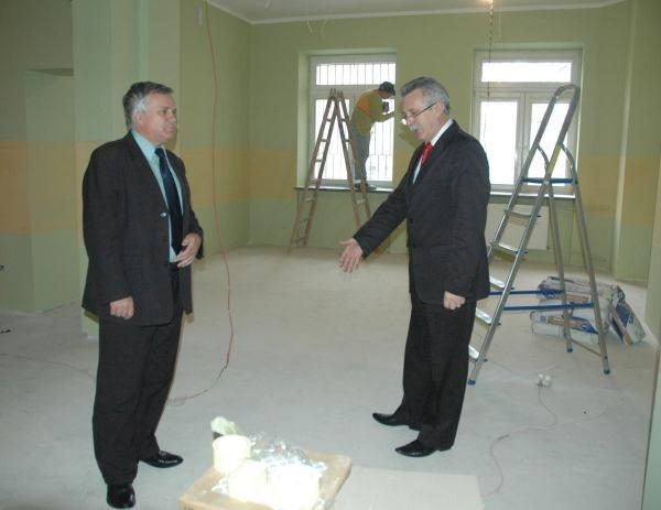 Dobiega końca remont wydziału komunikacji w starostwie powiatowym w Nysie.