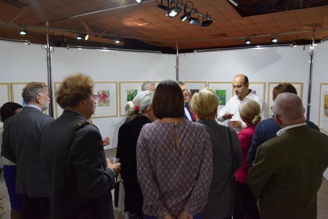 Mysłowice: wernisaż wystawy Marca Chagalla