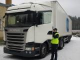 25-latek ukradł ciężarówkę wartą 500 tys. zł. Po pościgu został zatrzymany przez policję