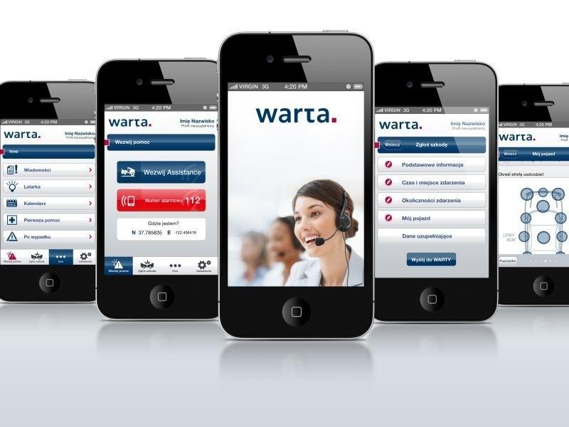 Superaplikacja firmy z Rzeszowa na urządzenia mobilneAplikacja na smartfony firmy z Rzeszowa ułatwia życie klientów Warty