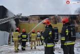 Kraków. Pożar archiwum widziany oczami strażaków [NOWE ZDJĘCIA]