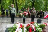 Krzeszowickie obchody 81. rocznicy wybuchu II wojny. Hołd dla bohaterów w parku Bogackiego