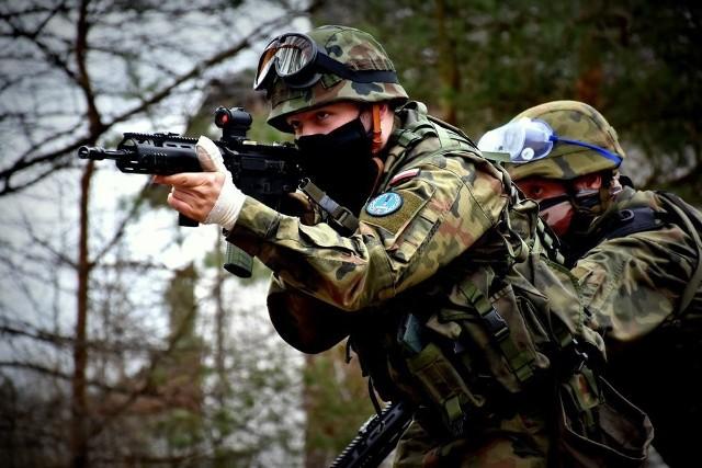 Żołnierze z Sieradza szkolili się w 91. batalionie lekkiej piechoty ze Zgierza