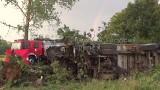 Wypadek tira pod Kamienną Górą. Kierowca zginął na miejscu