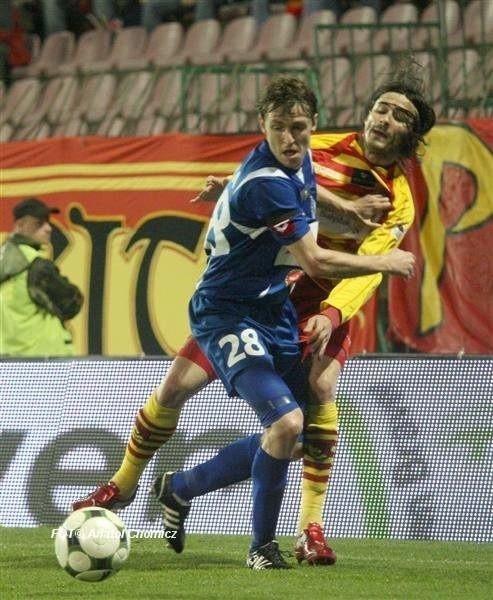Jagiellonia wygrała z Ruchem 1:0 i zapewniła sobie pobyt w ekstraklasie