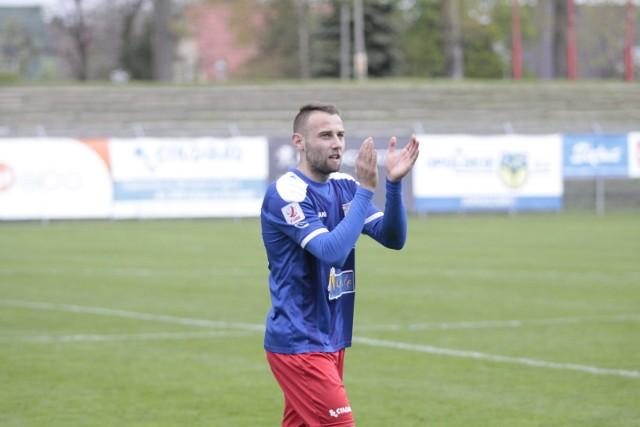 Szymon Skrzypczak miał duży wkład w awans Odry do 1 ligi.