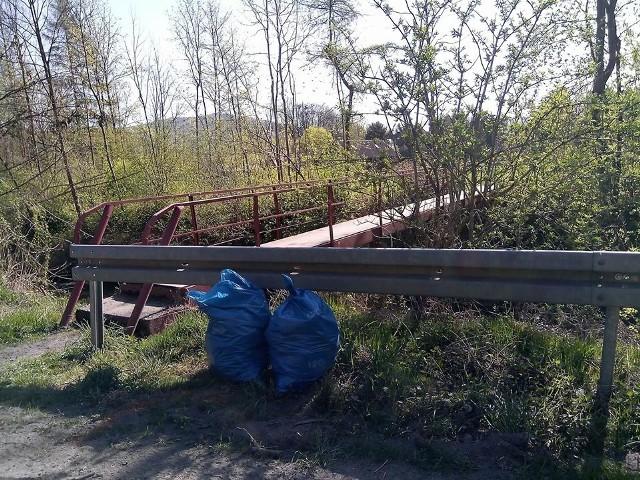 Sprzątanie zaplanowano na sobotę w Wiśniowej i Łękach