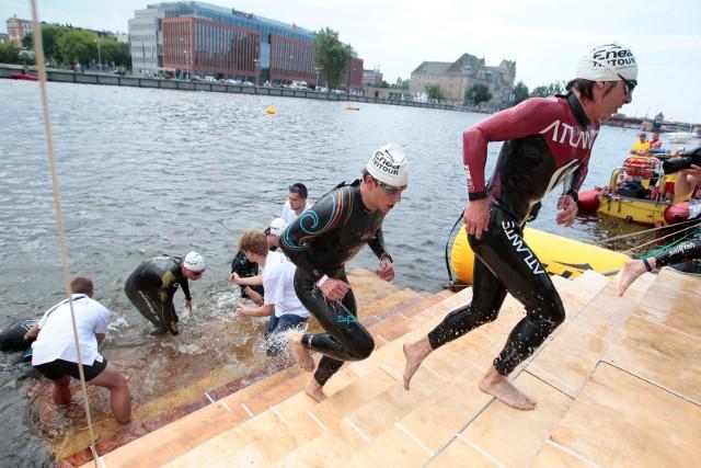 Sześć lat temu mistrzostw Polski w triathlonie odbyły się na Odrze i wokół niej w Szczecinie. Nad Wartą do tej pory jednak tego typu zawodów nie rozgrywano