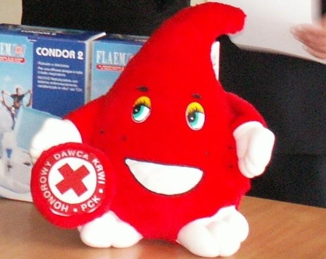 Oddając honorowo krew ratujemy komuś życie.