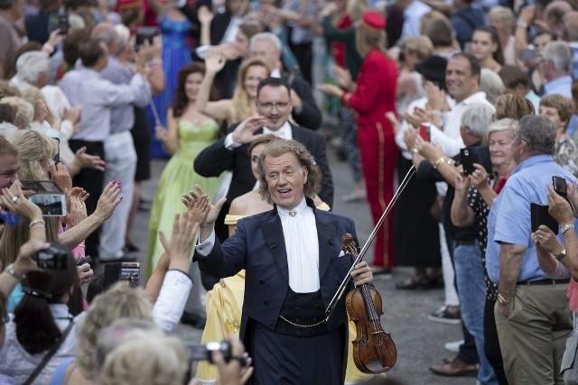 Andre Rieu wystąpi w Łodzi