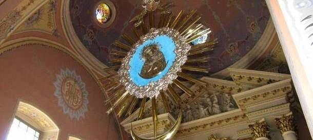 Kościół w Sokółce. To tutaj podobno doszło do cudu - hostia zamieniła się w ludzkie serce.