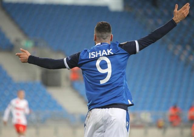 Mikael Ishak ma już na koncie osiem goli w Lidze Europy.