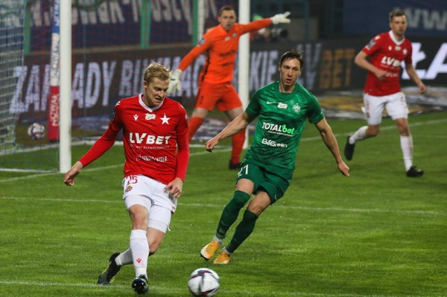 Michal Frydrych dostał w meczu z Wartą Poznań żółtą kartkę, która eliminuje Czecha ze spotkania z Zagłębiem Lubin