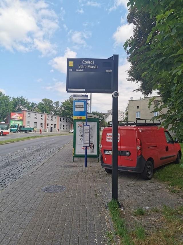 Nowe tablice elektroniczne na początek pojawią się w Czeladzi na przystanku Stare Miasto Zobacz kolejne zdjęcia/plansze. Przesuwaj zdjęcia w prawo - naciśnij strzałkę lub przycisk NASTĘPNE