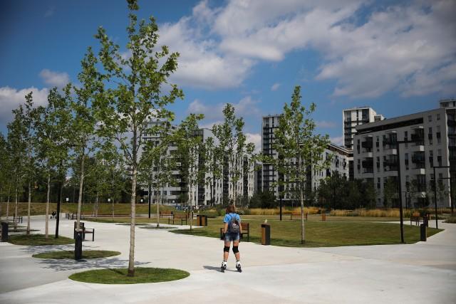 Nowy park w Czyżynach
