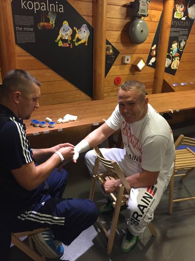 Przed Łukaszem Różańskim życiowa walka z byłym mistrzem Europy Albertem Sosnowskim