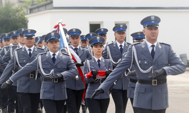 Wojewódzkie obchody święta policji w Zaczerniu. Rozdano medale i wyróżnienia.