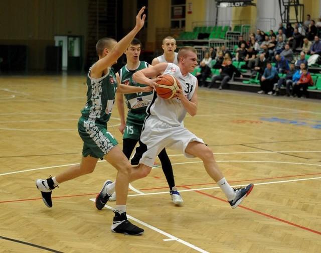 AZS PWSW MCS Daniel Przemyśl pokonał we własnej hali Daas Basket Hills Bielsko-Biała