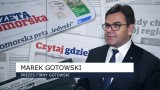Marek Gotowski, znany biznesmen z Bydgoszczy, z Krzyżem Kawalerskim Orderu Odrodzenia Polski