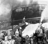 Pożar rafinerii w Czechowicach: Ludzie płonęli jak pochodnie, biegnąc przed siebie [ZDJĘCIA]